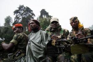 Les militaires rebelles mutins du M23, actif dans l'Est de la RDC, à la frontière avec le Rwanda et l'Ouganda ( Photos tirée de Slate Afrique).