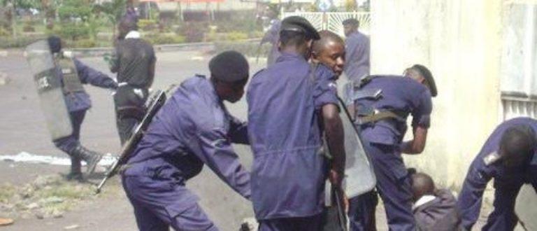 Article : Goma:10 jeunes manifestants acheminés à la Mairie par la police ce matin