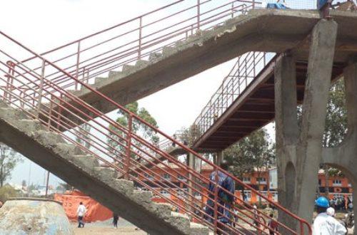 Article : Goma: Le pont suspendu crée la controverse