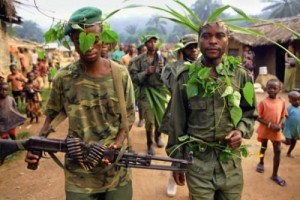 Les éléments Mai Mai Morgan actif dans le Mambassa. Source: kigaliconnect.com