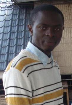 Le jeune poète et écrivain Congolais Patrick Bassham
