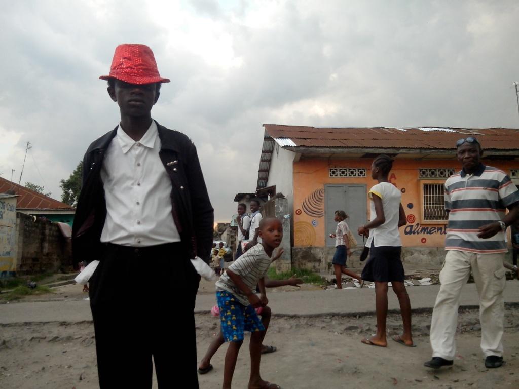 Jay Jackson, apres une prestation a Kinshasa (Crédit photo: Gaïus Kowene)