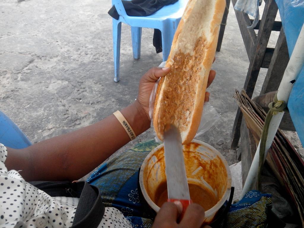 Mwamba confiture arachide  Kinshasa