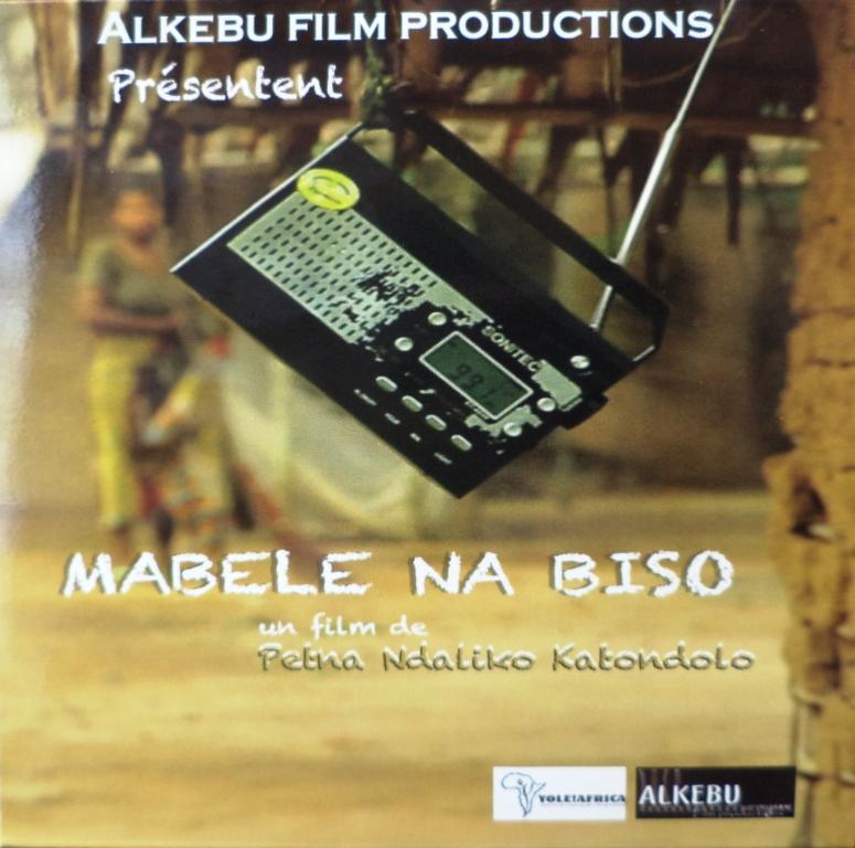 Pochette du film Mabele na biso lancé officiellement le Mercredi 10 Juillet 2013 pendant le SKIFF (Crédit photo: Gaïus Kowene)