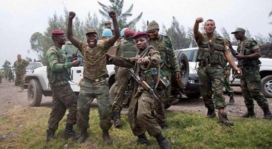 L'armée Congolaise célèbre sa victoire militaire sur les rebelles du M23