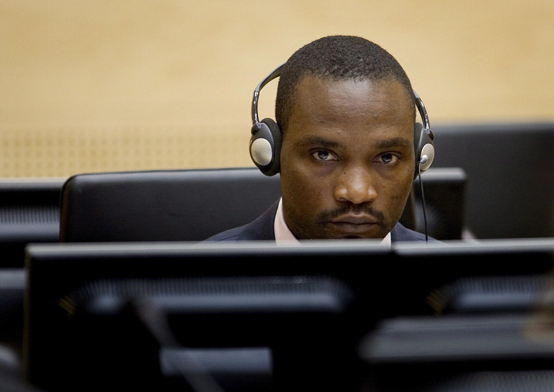 Germain Katanga à la CPI en 2007 (Crédit photo: flickr CPI)