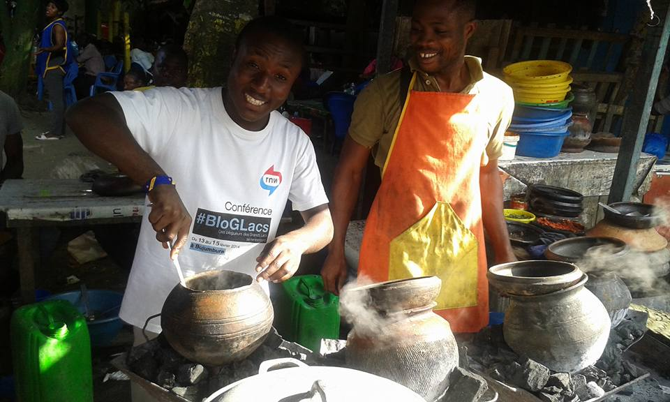 Gaius Kowene à Abidjan